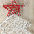 """11"""" White and Red String Christmas Tree Wall Decor - IMAGE 2"""