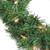Pre-Lit Deluxe Windsor Pine Artificial Christmas Wreath - 10-Inch, Clear Lights - IMAGE 2