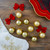 """10ct Shiny and Matte Champagne Gold Glass Ball Christmas Ornaments 1.75"""" (45mm) - IMAGE 2"""
