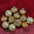 """12ct Gold 3-Finish Glass Christmas Ornaments 3.75"""" - IMAGE 2"""