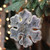 """8"""" White and Brown Rustic Embellished Christmas Snowflake Ornament - IMAGE 3"""
