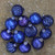 """12ct Royal Blue Multi Finish with Various Shaped Christmas Ornaments 3.75"""" - IMAGE 2"""
