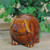 "3.5"" Pudgy Pals Floppy Eared Dark Brown Porcelain Doggy Table Top and Garden Figure - IMAGE 3"