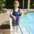 Blue Learn to Swim Children's Swimming Beginner Vest Tube Trainer - IMAGE 3