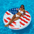 Red and Blue Stars, Stripes, Peace Sign Swimming Pool Float, 60-Inch - IMAGE 4