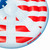 Red and Blue Stars, Stripes, Peace Sign Swimming Pool Float, 60-Inch - IMAGE 3
