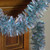 """12' x 3"""" Silver and Blue Tinsel Wide Cut Artificial Christmas Garland - Unlit - IMAGE 4"""