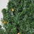 5' Pre-Lit Commercial Canadian Pine Artificial Christmas Wreath - Clear Lights - IMAGE 2