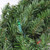 6' Pre-Lit Commercial Canadian Pine Artificial Christmas Wreath - Multi Lights - IMAGE 2