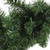 """9' x 10"""" Green Pre-Lit Battery Operated LED Pine Artificial Christmas Garland - Multi Lights - IMAGE 2"""