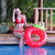 """30"""" Inflatable Red Strawberry Children Pool Ring Float - IMAGE 2"""