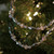 Set of 3 Silver and Clear Beaded Artificial Christmas Garland Swag - Unlit - IMAGE 2
