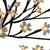 "25"" Pre-Lit Japanese Sakura Blossom Artificial Tree - Warm White LED lights - IMAGE 3"