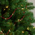 """9' x 0.5"""" Shiny and Matte Red Beaded Shatterproof Artificial Christmas Garland - Unlit - IMAGE 2"""