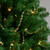 9' Shiny and Matte Gold Beaded Christmas Garland - IMAGE 2