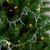 """8' x 2.5"""" Clear Iridescent Icicle Beaded Artificial Christmas Garland - Unlit - IMAGE 2"""