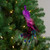 """14"""" Pink and Purple Jeweled Peacock Clip-On Christmas Ornament - IMAGE 5"""