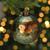 "2ct Bronze Matte Finish Shatterproof Christmas Ball Ornaments 5.5"" (140mm) - IMAGE 3"