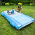 """105"""" Blue Classic Convertible Car Swimming Pool Lounger Float - IMAGE 4"""