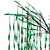 6' Lighted Christmas Willow Tree Outdoor Decoration - Green LED Lights - IMAGE 2