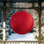 """23.5"""" Red Tinsel Inflatable Christmas Ball Ornament Outdoor Decoration - IMAGE 2"""