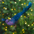 """14.75"""" Glittered Blue and Green Peacock Christmas Clip-On Christmas Ornament - IMAGE 2"""