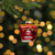 """3.5"""" Red Asian Food Take Out Container Glass Christmas Ornament - IMAGE 2"""