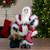 "18"" Standing Santa Christmas Figure with Presents - IMAGE 2"