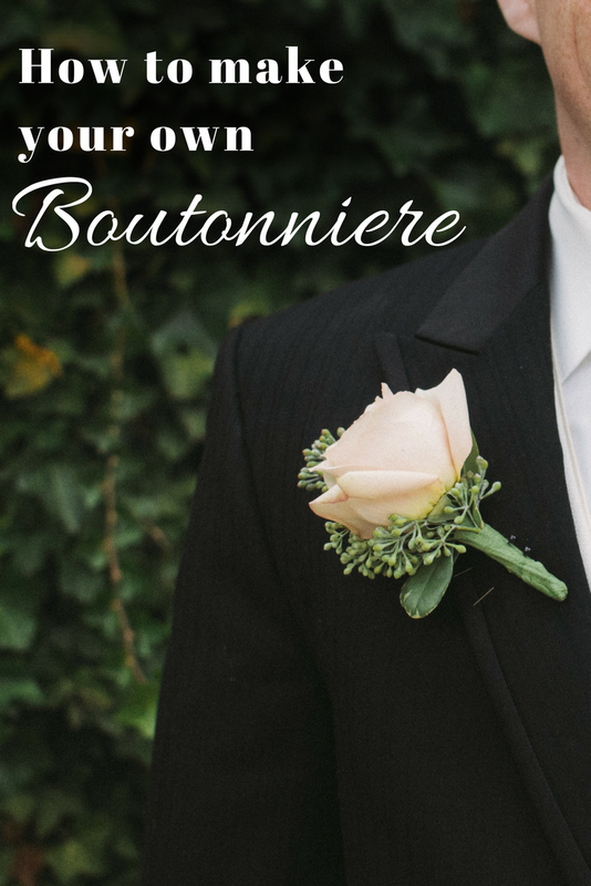 How To Make Your Own Silk Flower Boutonniere Christmas