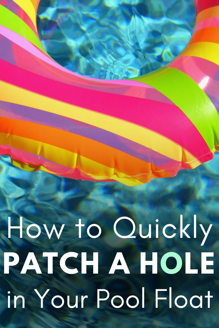 How to Quickly Patch a Hole in Your Pool Float - Christmas Central