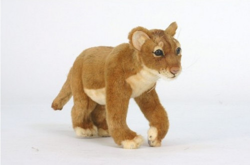 Pack Of 2 Life Like Handcrafted Extra Soft Plush Lion Cub Standing Stuffed Animal 14 25 Christmas Central