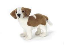 13 Life Like Handcrafted Extra Soft Plush St Bernard Stuffed