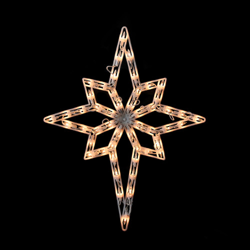 20 Quot Lighted Star Of Bethlehem Christmas Window Silhouette