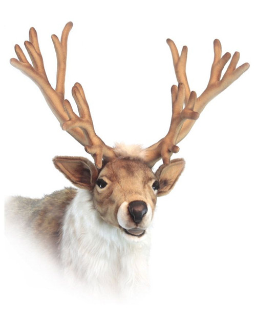 47 Life Size Handcrafted Extra Soft Plush Nordic Reindeer