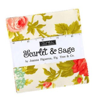 Scarlet & Sage Charm Pack by Fig Tree & Co.