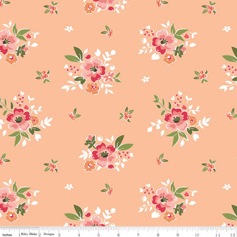 Summer Blush Main Floral - Apricot