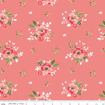Summer Blush Main Floral - Pink