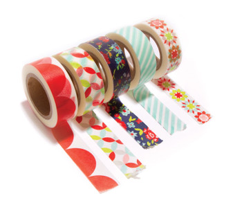 SMITTEN Decorative Tape by Bonnie and Camille - Set of 5