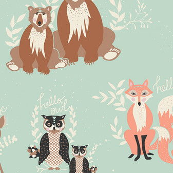 Oh, Hello Meadow from Hello Bear by Bonnie Christine for AGF Studio