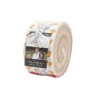 Spring Chicken Jelly Roll by Sweetwater Fabrics for Moda