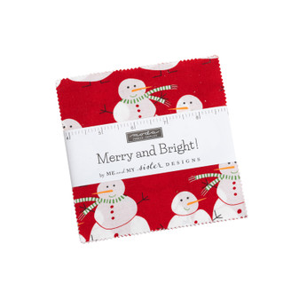 Merry And Bright Charm Pack by Me & My Sister