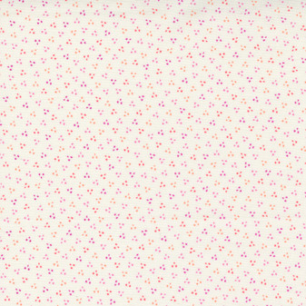 Sincerely Yours Clustered Multi Dots on Ivory by Sherri & Chelsi