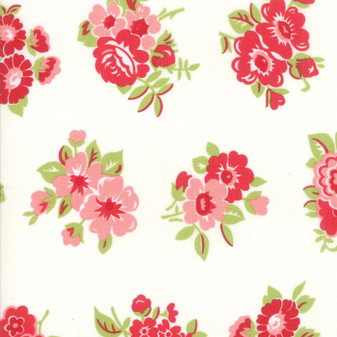 LITTLE SNIPPETS Marmalade Floral in Cream #55188-15