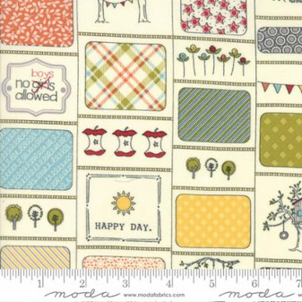 "Treehouse Club by Sweetwater Fabrics - 1 YD + 25"" EOB - LAST YARD+"