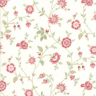 Porcelain by 3 Sisters for Moda #44193-11
