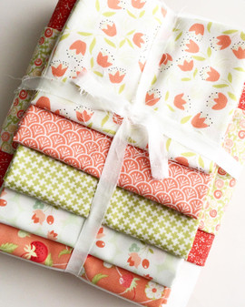 Summer Picnic Quilt Kit featuring Fig Tree & Company Chantilly