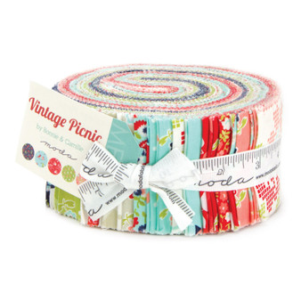 Vintage Picnic Jelly Roll by Bonnie and Camille