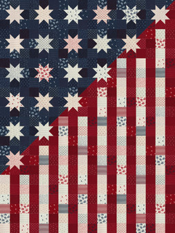 American Gathering Quilt Kit by Primitive Gathering for Moda DEPOSIT