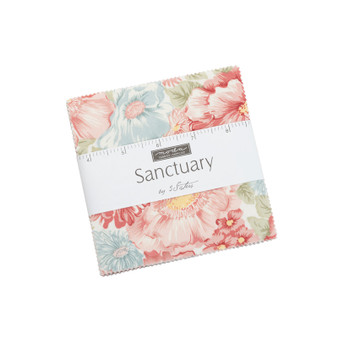 PREORDER Sanctuary Charm Pack by 3 Sisters for Moda