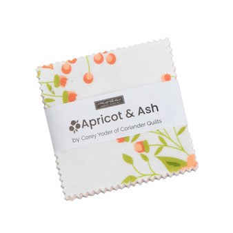Apricot and Ash Mini Charm Pack by Corey Yoder